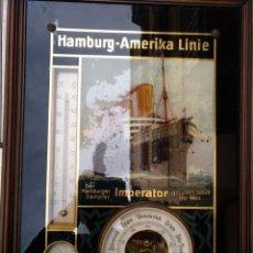 Antigüedades: PUBLICIDAD HAMBURG-AMERIKA LINIE. Lote 155465346