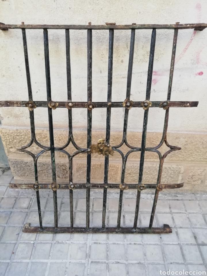 REJA DE CONVENTO DEL SIGLO XVI (Antigüedades - Técnicas - Cerrajería y Forja - Forjas Antiguas)