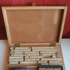 Antigüedades: ANTIGUA IMPRENTILLA COMERCIAL MINERVA Nº 13. Lote 155324042