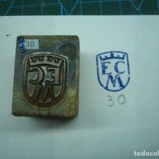 Antigüedades: IMPRENTA GRABADO EMBLEMA DE CARRERA. REF EMBLEMA 30. Lote 155502818
