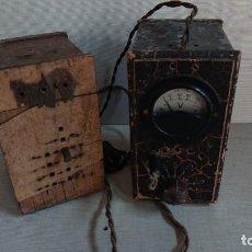 Antigüedades: LOTE DE DOS TRANSFORMADORES. Lote 155532234