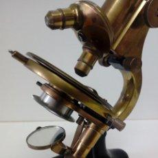 Antigüedades: MICROSCOPIO WINKEL - ZEISS GOTTINGEN NR 31099. Lote 155584490