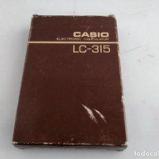 Antigüedades: CALCULADORA CASIO LC 315 FUNCIONANDO. Lote 155600986