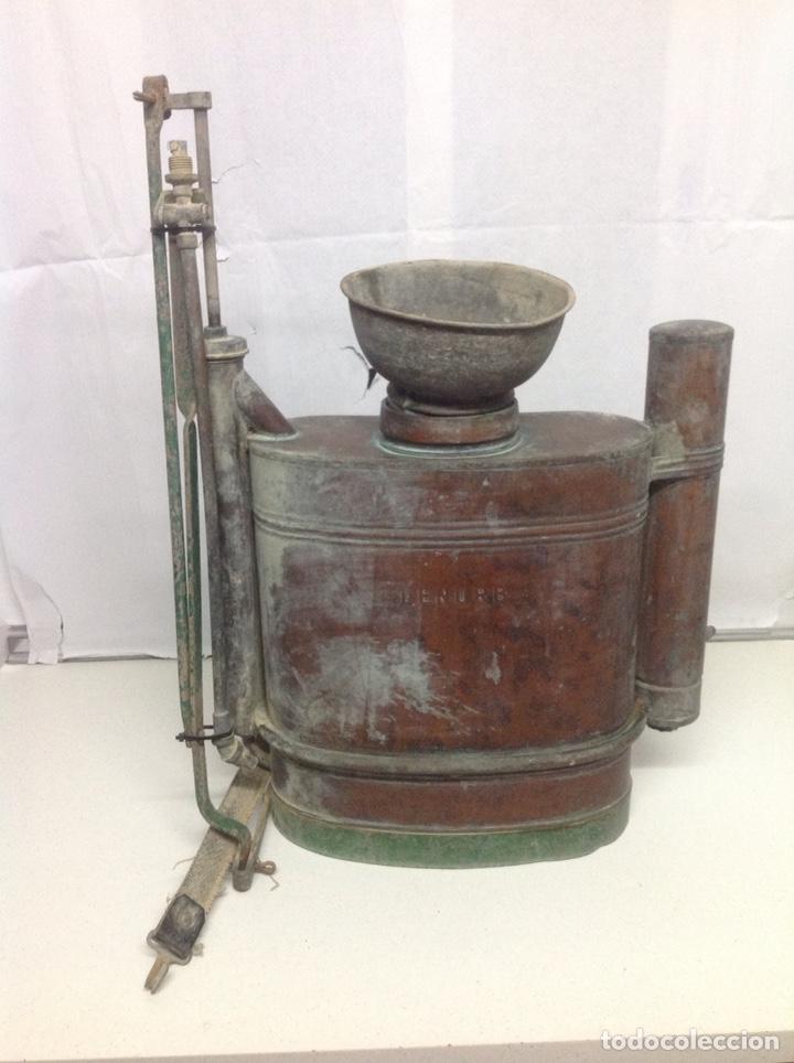ANTIGUA SULFATADORA DE COBRE (Antigüedades - Técnicas - Varios)