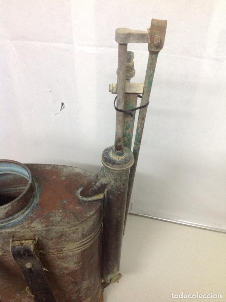 Antigüedades: Antigua sulfatadora de cobre - Foto 7 - 155709409