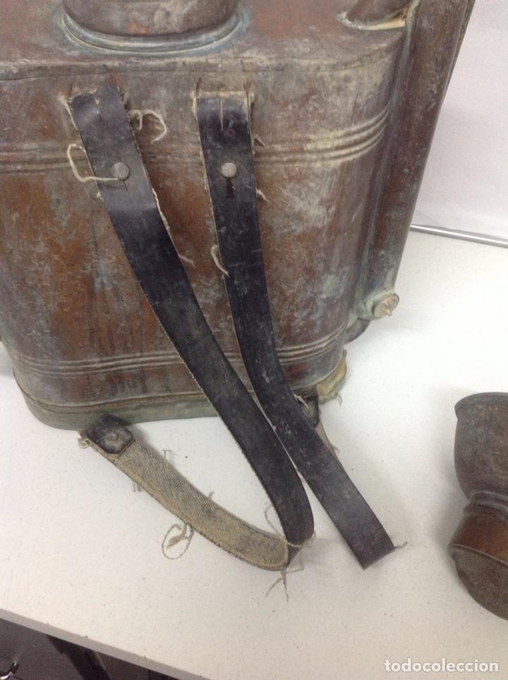 Antigüedades: Antigua sulfatadora de cobre - Foto 8 - 155709409