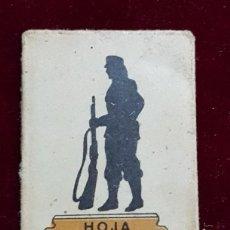 Antigüedades: HOJA DE AFEITAR LEGIÓN EXTRANJERA . Lote 155712578