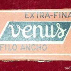 Antigüedades: HOJA DE AFEITAR VENUS EXTRAFINA. Lote 155712634