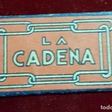 Antigüedades: HOJA DE AFEITAR LA CADENA. Lote 155712882