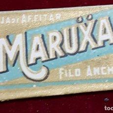 Antigüedades: HOJA DE AFEITAR MARICA FILO ANCHO. Lote 155712990