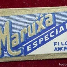 Antigüedades: HOJA DE AFEITAR MARUXA ESPECIAL. Lote 155713034