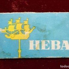 Antigüedades: HOJA DE AFEITAR HEBA. Lote 155713066