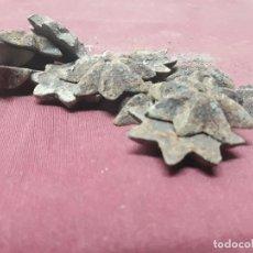 Antigüedades: LOTE 12 CABEZAS CLAVOS ESTRELLADOS... Lote 155714042