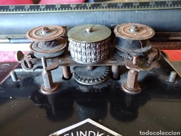 Antigüedades: Máquina de escribir GUNDKA - Foto 6 - 155695390