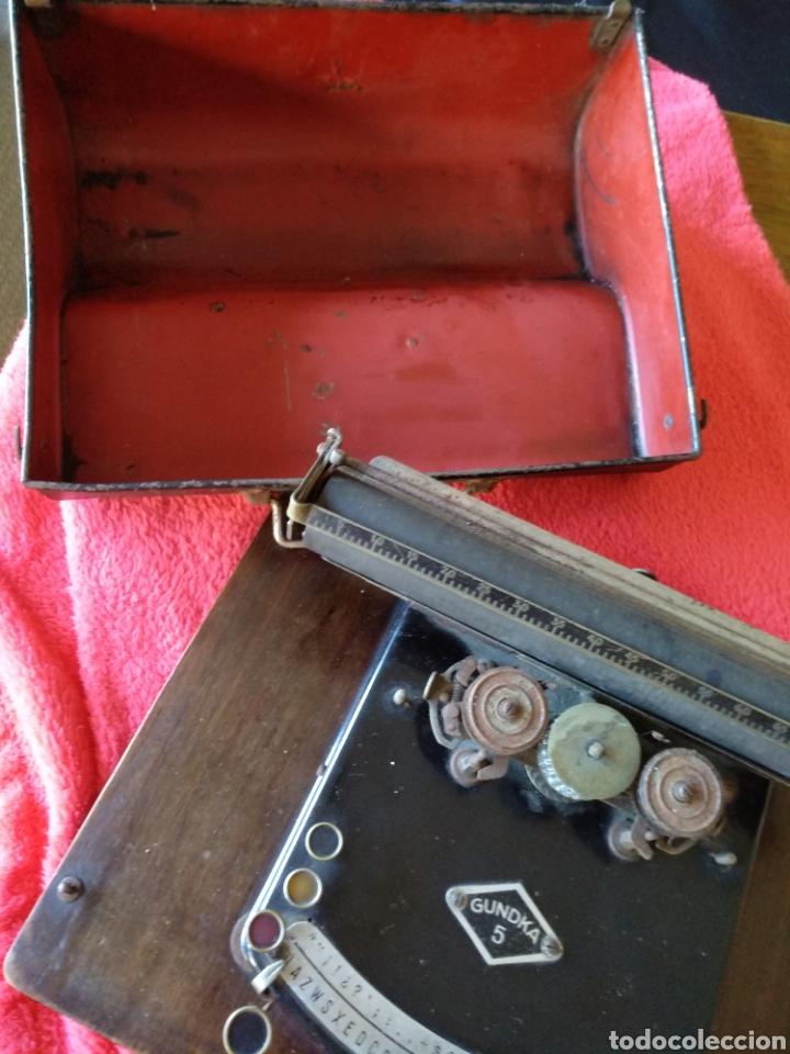 Antigüedades: Máquina de escribir GUNDKA - Foto 9 - 155695390