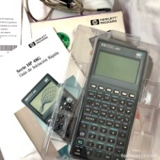 Antigüedades: CALCULADORA HEWLETT PACKARD HP 48GX GRAPHIC CALCULATOR FUNCIONA CAJA MANUAL FUNDA CABLE. Lote 155775916