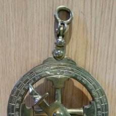 Antigüedades: INSTRUMENTO MARÍTIMO DE DECORACIÓN. BRONCE. CURIOSO.. Lote 155802262