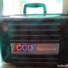 Antigüedades: CAMARA DE VIDEO SONY CCD-TR55E CON EXTRAS. Lote 204059743