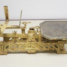 Antigüedades: 419- ANTIGUA BALANZA HIERRO 46 CMS ANCHO 7.5 KGS. Lote 155806970