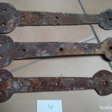 Antigüedades: LOTE 3 BISAGRAS. Lote 155818874