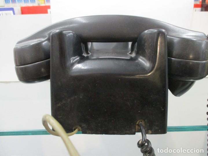 Teléfonos: EXtraordinario TELEFONO DE BAQUELITA - CON DOBLE NUMERACION - Foto 4 - 158910260