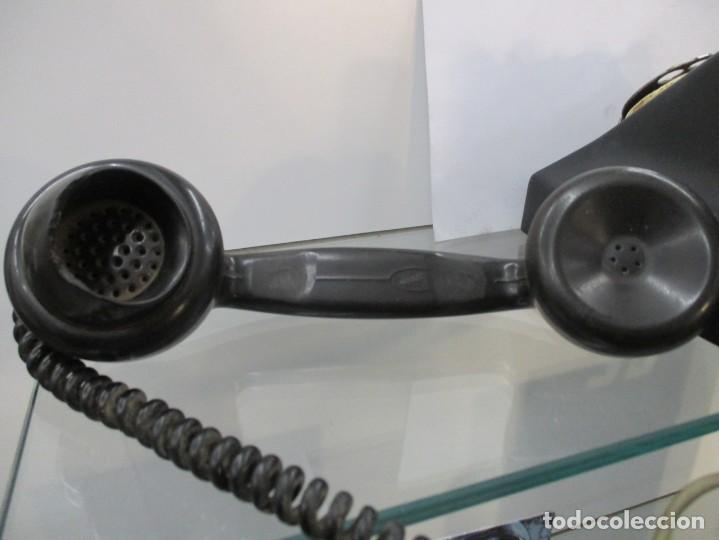 Teléfonos: EXtraordinario TELEFONO DE BAQUELITA - CON DOBLE NUMERACION - Foto 5 - 158910260