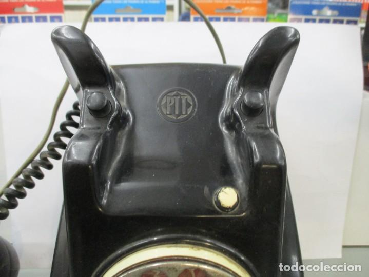 Teléfonos: EXtraordinario TELEFONO DE BAQUELITA - CON DOBLE NUMERACION - Foto 6 - 158910260