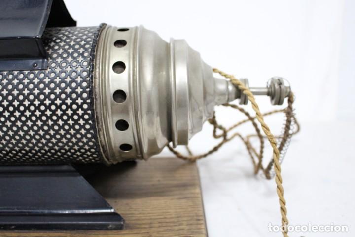 Antigüedades: Preciosa Linterna Mágica principios del siglo XX en maravilloso estado - Foto 7 - 155835774