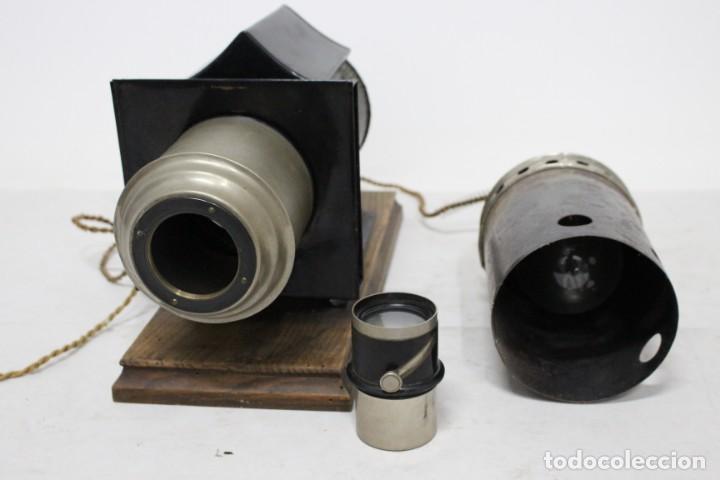 Antigüedades: Preciosa Linterna Mágica principios del siglo XX en maravilloso estado - Foto 11 - 155835774