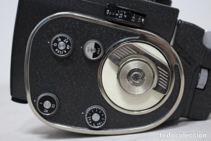 Antigüedades: Camara de 8 mm KBAPU + maletin con accesorios. Rusia, años 60. como nueva - Foto 3 - 155839818