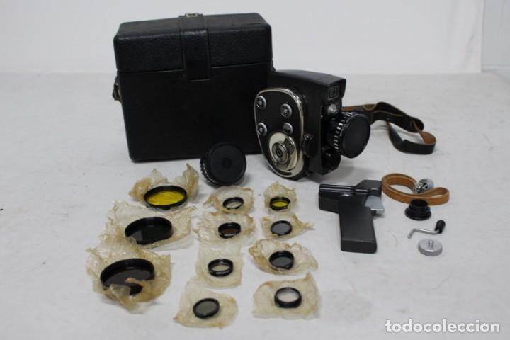 Antigüedades: Camara de 8 mm KBAPU + maletin con accesorios. Rusia, años 60. como nueva - Foto 14 - 155839818