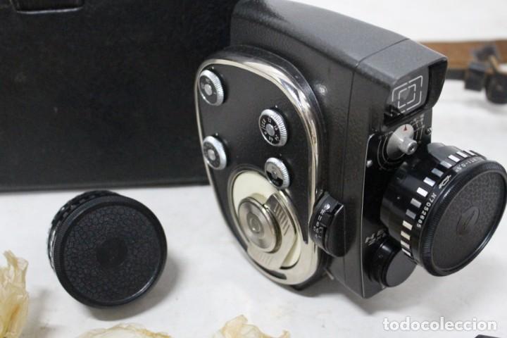 Antigüedades: Camara de 8 mm KBAPU + maletin con accesorios. Rusia, años 60. como nueva - Foto 16 - 155839818