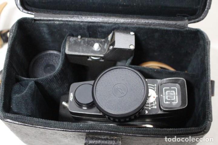 Antigüedades: Camara de 8 mm KBAPU + maletin con accesorios. Rusia, años 60. como nueva - Foto 22 - 155839818