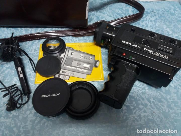 CÁMARA VIDEO BOLEX 581 SOUND MACRO ZOOM (Antigüedades - Técnicas - Aparatos de Cine Antiguo - Cámaras de Super 8 mm Antiguas)