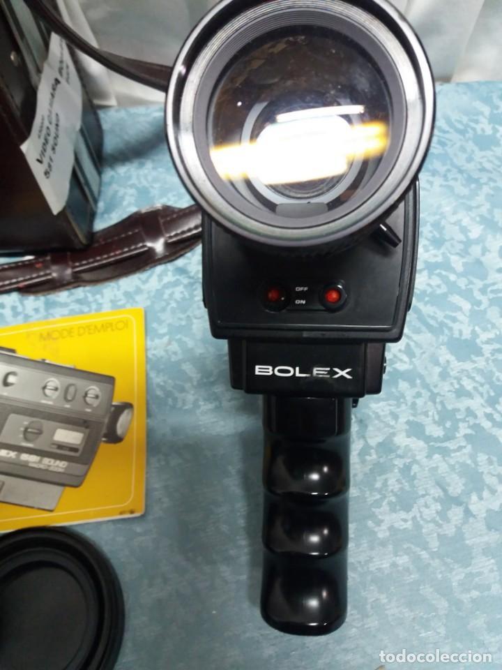 Antigüedades: CÁMARA VIDEO BOLEX 581 SOUND MACRO ZOOM - Foto 2 - 155865982