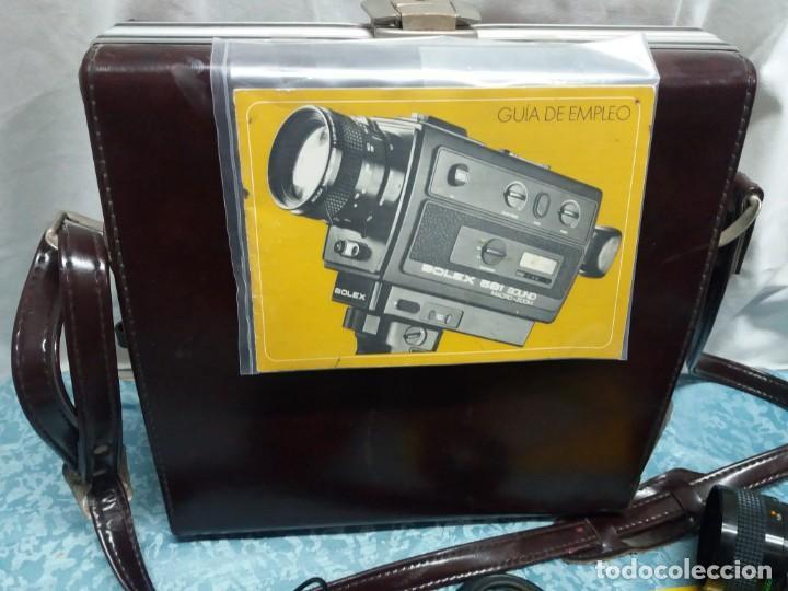 Antigüedades: CÁMARA VIDEO BOLEX 581 SOUND MACRO ZOOM - Foto 3 - 155865982