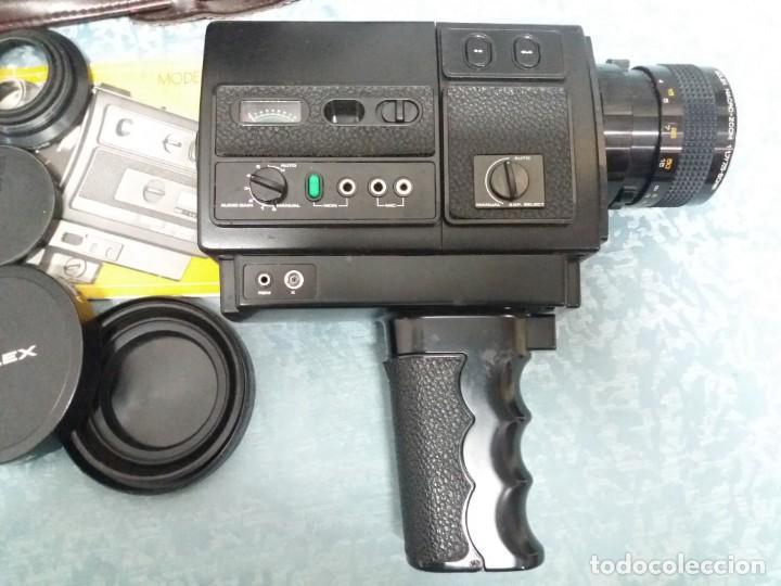 Antigüedades: CÁMARA VIDEO BOLEX 581 SOUND MACRO ZOOM - Foto 6 - 155865982