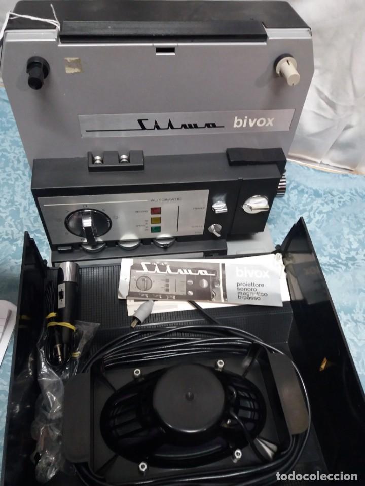 PROYECTOR CINE SILMA BIVOX (Antigüedades - Técnicas - Aparatos de Cine Antiguo - Cámaras de Super 8 mm Antiguas)