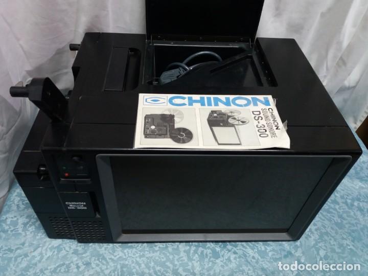 PROYECTOR CINE DUAL CHINON DS 300 (Antigüedades - Técnicas - Aparatos de Cine Antiguo - Cámaras de Super 8 mm Antiguas)
