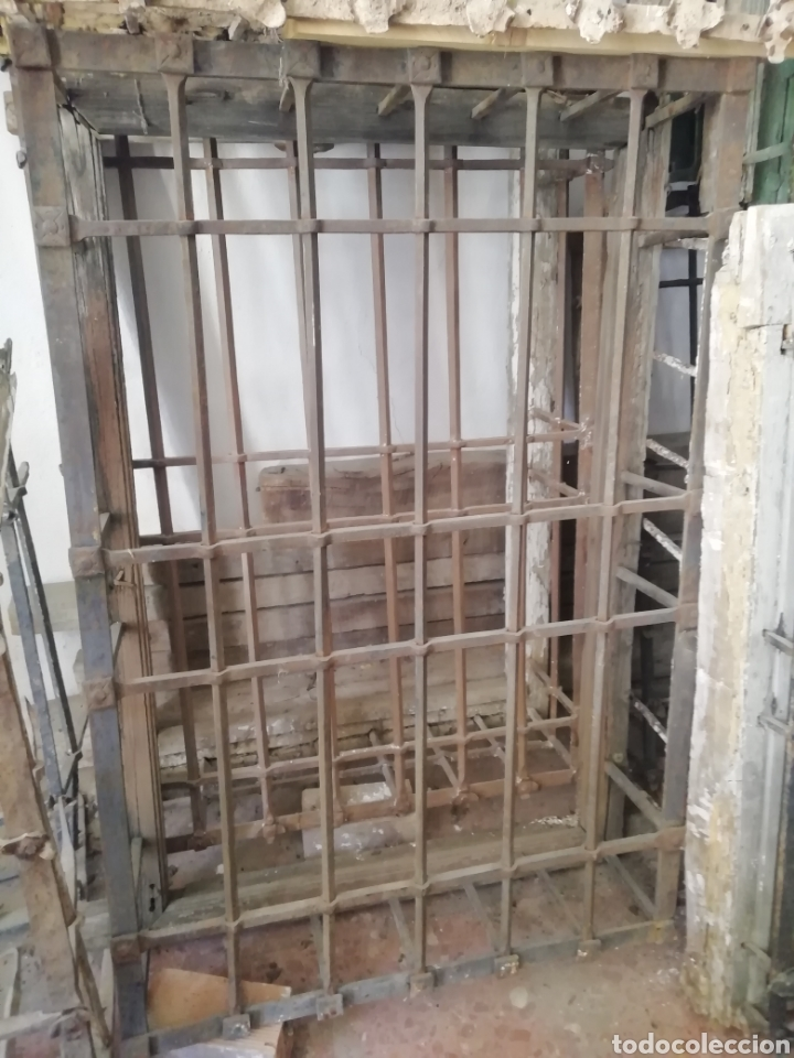 ANTIGUA REJA (Antigüedades - Técnicas - Cerrajería y Forja - Forjas Antiguas)