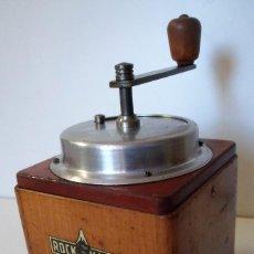 Antigüedades: MOLINILLO DE CAFÉ MARCA ROCK HARD. BELGICA. CA. 1950. Lote 155965310