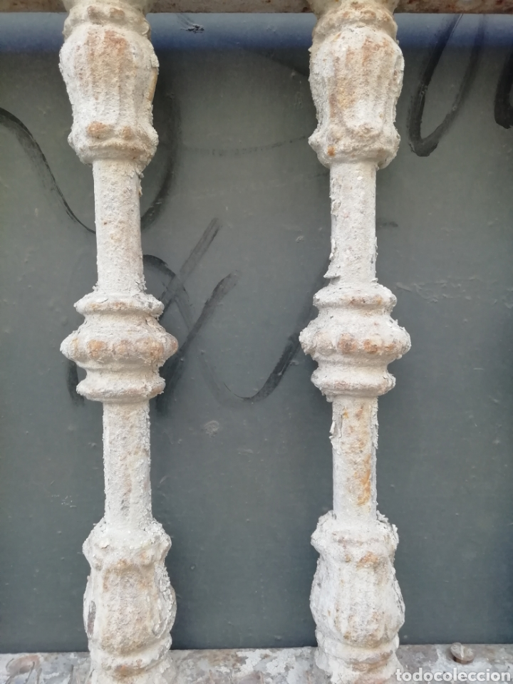 Antigüedades: Antigua reja o traga luz - Foto 4 - 156051742