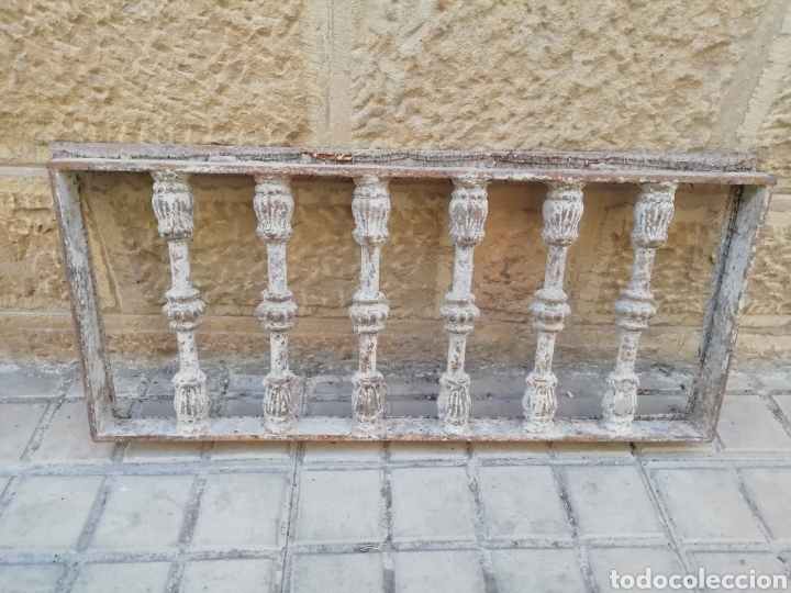 Antigüedades: Antigua reja o traga luz - Foto 6 - 156051742