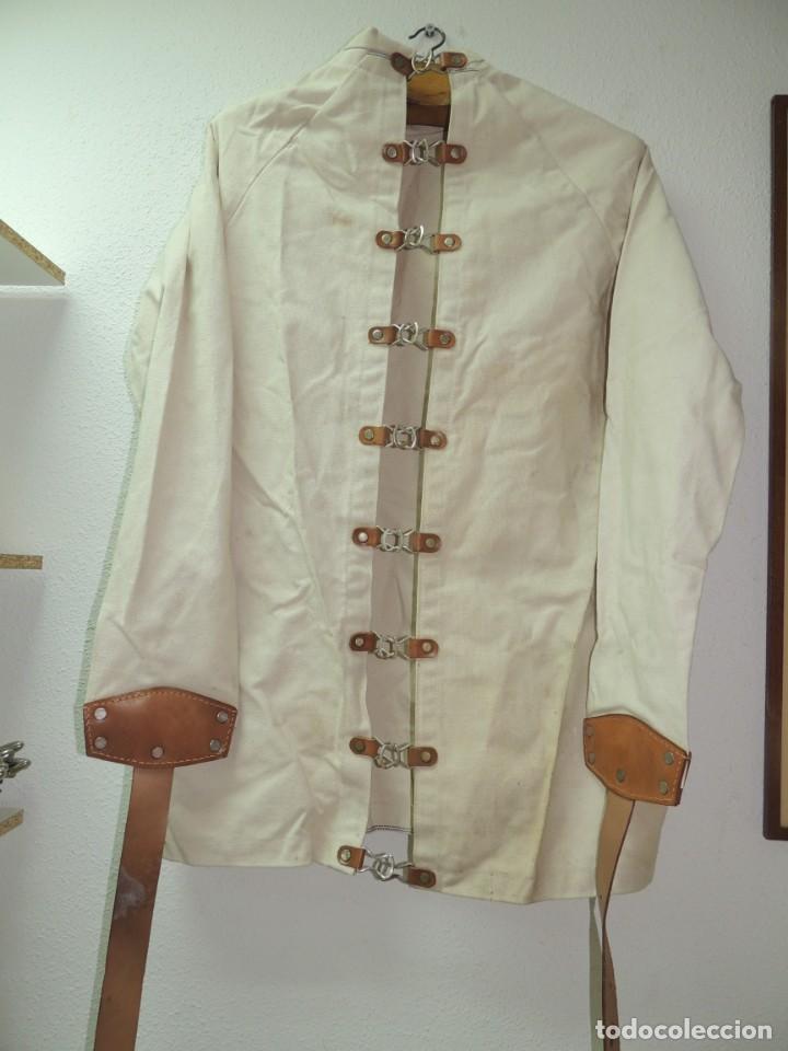 Antiquitäten: Antigua Camisa de fuerzas Medica de Psiquiatría Excelente Pieza de Colección Muy Rara - Foto 2 - 156434654