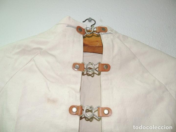 Antiquitäten: Antigua Camisa de fuerzas Medica de Psiquiatría Excelente Pieza de Colección Muy Rara - Foto 4 - 156434654