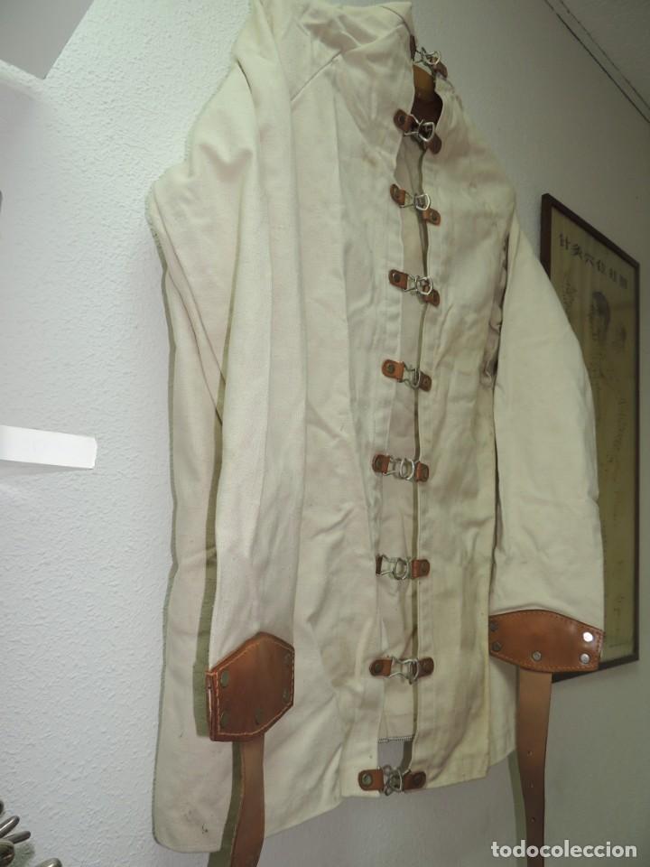 Antiquitäten: Antigua Camisa de fuerzas Medica de Psiquiatría Excelente Pieza de Colección Muy Rara - Foto 10 - 156434654