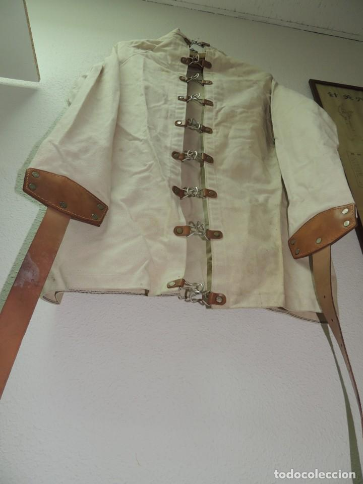 Antiquitäten: Antigua Camisa de fuerzas Medica de Psiquiatría Excelente Pieza de Colección Muy Rara - Foto 12 - 156434654