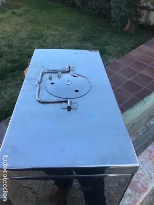 Antigüedades: Medicina caja, metal, año 40 - Foto 4 - 156454442