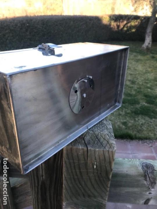 Antigüedades: Medicina caja, metal, año 40 - Foto 7 - 156454442