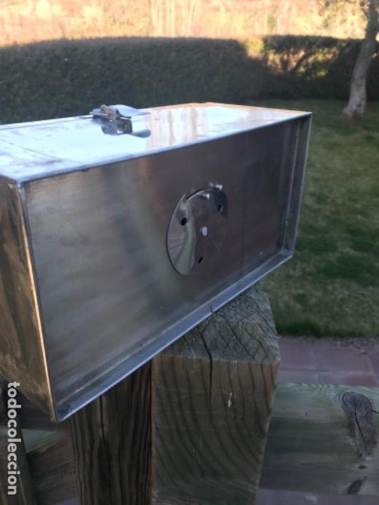 Antigüedades: Medicina caja, metal, año 40 - Foto 8 - 156454442